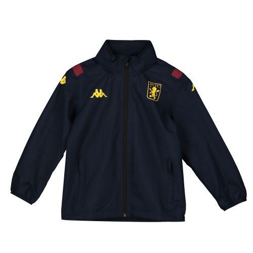 Aston Villa Rain Jacket - Navy - Kids