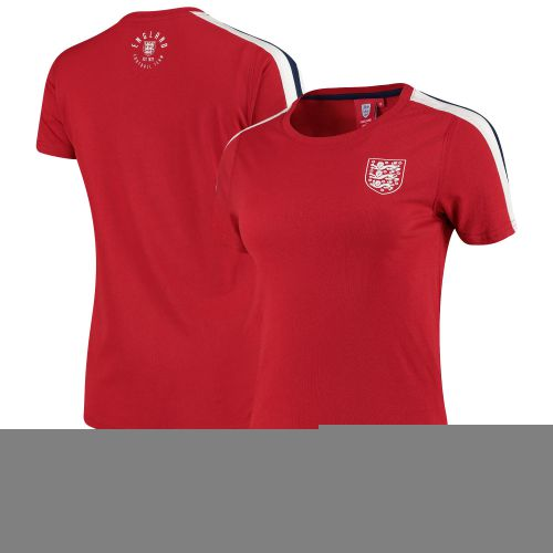 England Crew Neck T - Red - Womens