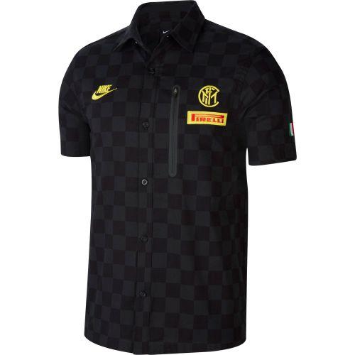 Inter Milan Pirelli Team Crew Sweater - Black