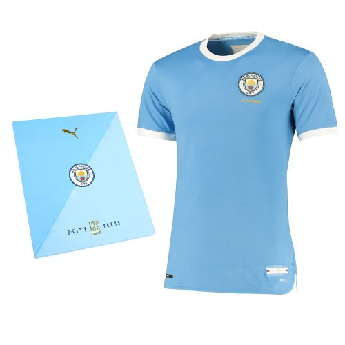 Manchester City 125 Year Anniversary Authentic Shirt - Boxed