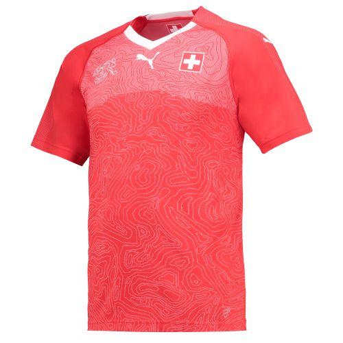 Switzerland Home Shirt 2018