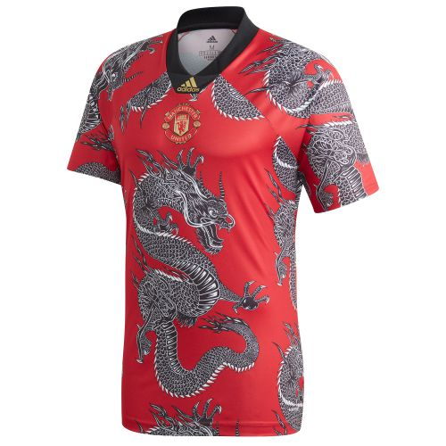 Manchester United Chinese New Year Dragon Jersey - Red