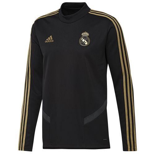 Real Madrid LS Training Top - Black