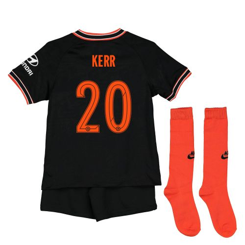 Chelsea Third Cup Stadium Kit 2019-20 - Little Kids with Kerr 20 printing