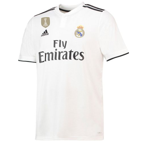 Real Madrid Home Shirt 2018-19 with Benzema 9 printing