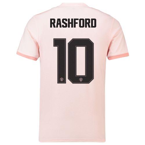 Manchester United Away Cup Shirt 2018-19 with Rashford 10 printing