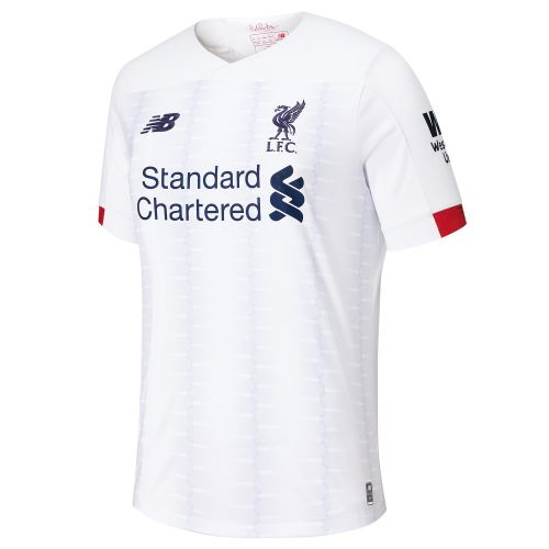 Liverpool Away Shirt 2019-20 - Kids with Virgil 4 printing