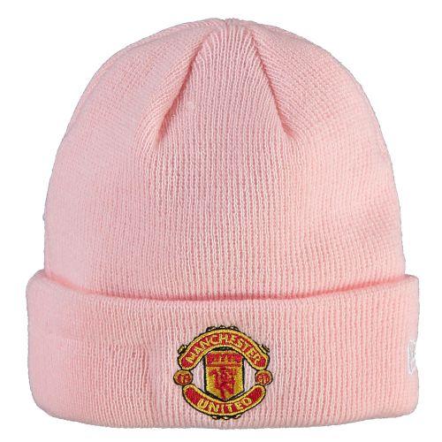 Manchester United New Era Cuff Knit Hat - Pink - Infant