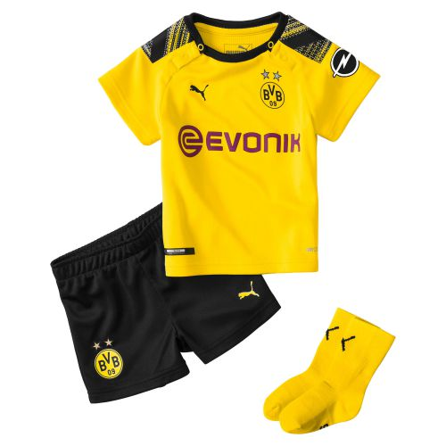 BVB Home Baby Kit 2019-20 with Haaland 17 printing