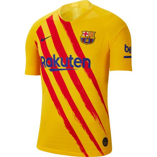 Barcelona Nike Vapor Match Short Sleeve Jersey - Mens