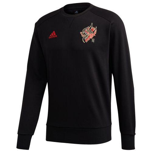 Manchester United Chinese New Year Crew Sweater - Black