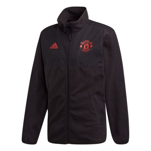 Manchester United Seasonal Fleece Jacket - Black