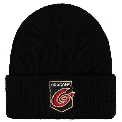 Dragons Rugby Cuff Beanie - Black - Junior