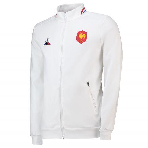 France Full Zip Anthem Jacket - Optical White - Mens