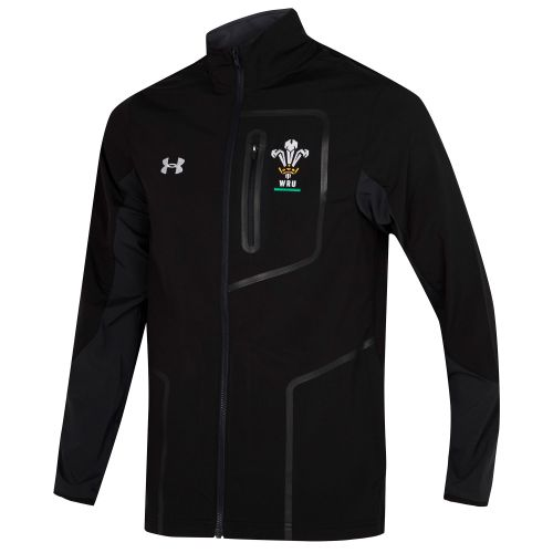 Welsh Rugby Presentation Jacket - Anthracite - Mens