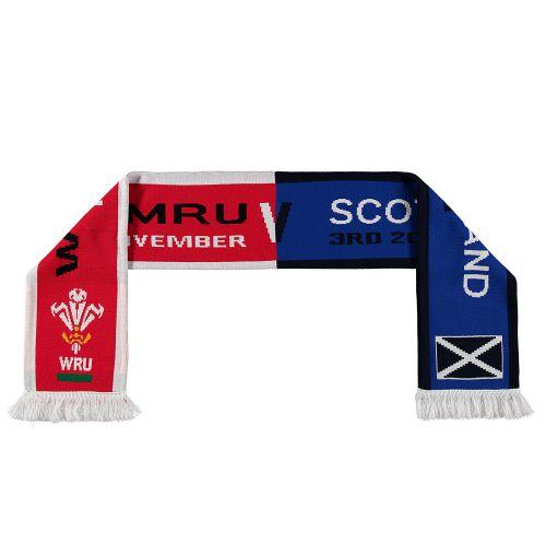 Welsh Rugby V Scotland - 3rd November Scarf