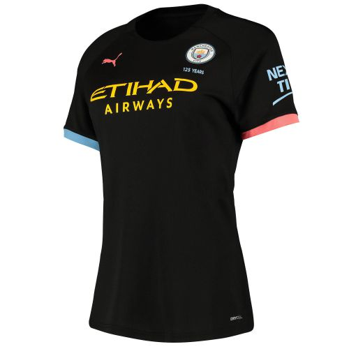 Manchester City Authentic Away Shirt 2019-20 - Womens with Wembley 20 printing
