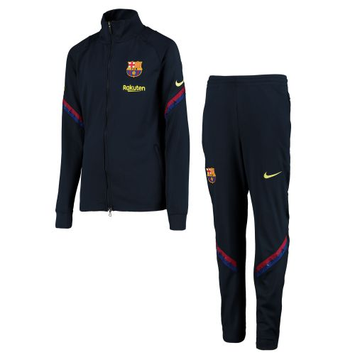 Barcelona Nike Dri-Fit Strike Tracksuit - Youth