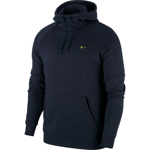 Barcelona Nike Pullover Fleece Hoodie - Mens