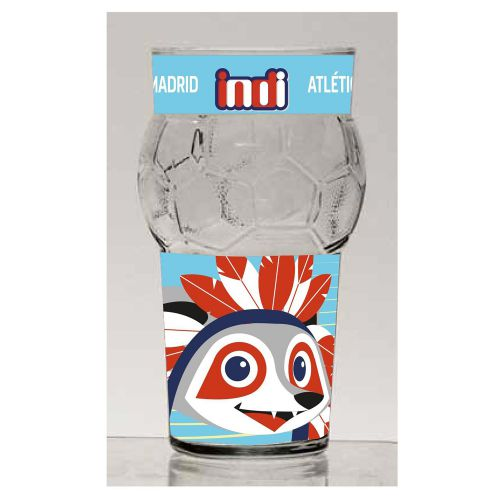 Atlético de Madrid Indi Ball Glass