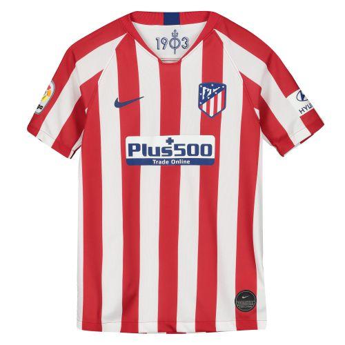 Atlético de Madrid Home Stadium Shirt 2019-20 - Kids with Carrasco 21 printing