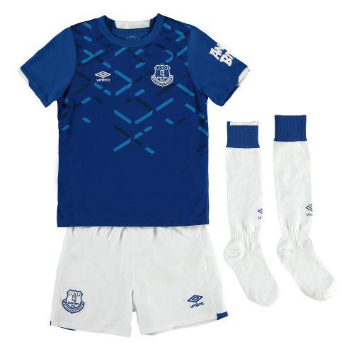 Everton Home Infant Kit 2019-20 with Richarlison 7 printing