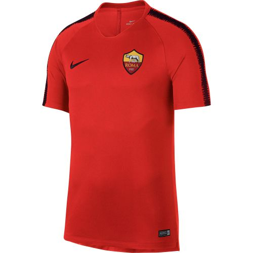 AS Roma Squad Training Top - Red