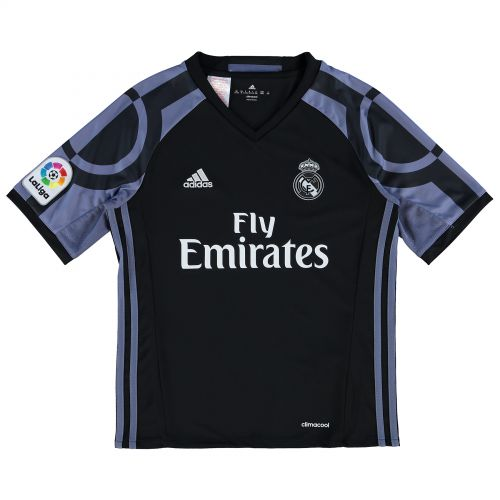 Real Madrid Third Shirt 2016-17 - Kids with Benzema 9 printing