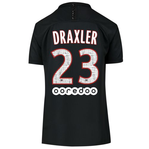 Paris Saint-Germain 2019-20 Fourth Stadium Shirt - Kids with Draxler 23 printing