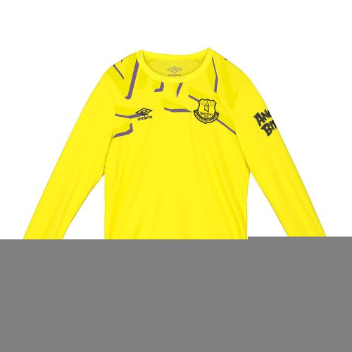 Everton Goalkeeper Home Shirt 2019-20 - Long Sleeve - Kids