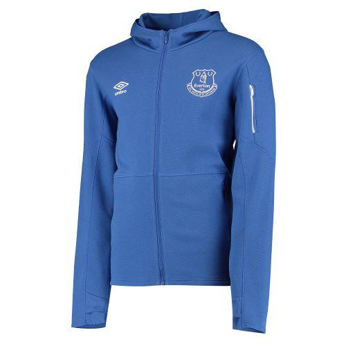Everton Pro Fleece Jacket - Blue