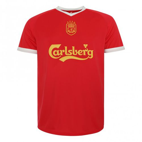 Liverpool 2001-03 Home Shirt - Carlsberg Euros