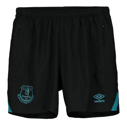 Everton Training Woven Shorts - Black - Kids