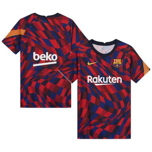 Barcelona Dri-Fit Training Top - Red - Kids