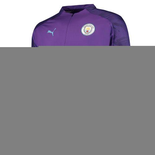 Manchester City 1/4 Zip Training Top - Purple