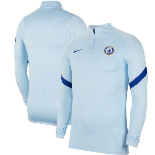 Chelsea Strike Drill Top - Sky Blue