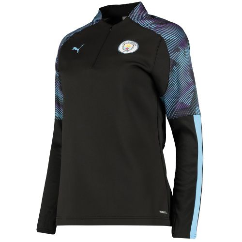 Manchester City Training Fleece - Black - Womens