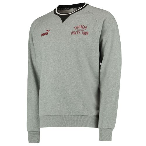 Manchester City Urban Varsity Sweatshirt - Grey