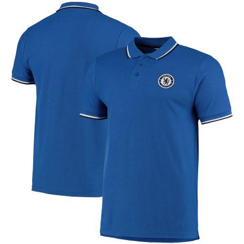 Chelsea Tipped Polo Shirt - Blue - Mens