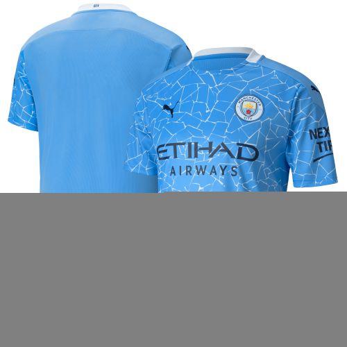 Manchester City Home Shirt 2020-21 with Bernardo 20 printing