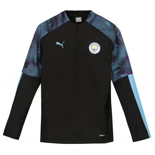 Manchester City Training Fleece - Black - Kids