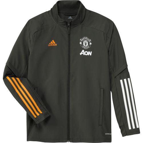 Manchester United Training Presentation Jacket - Green - Kids
