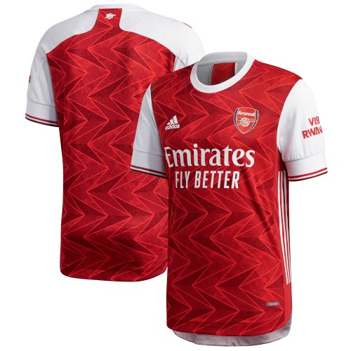 Arsenal Authentic Home Shirt 2020-21 with Martinelli 35 printing