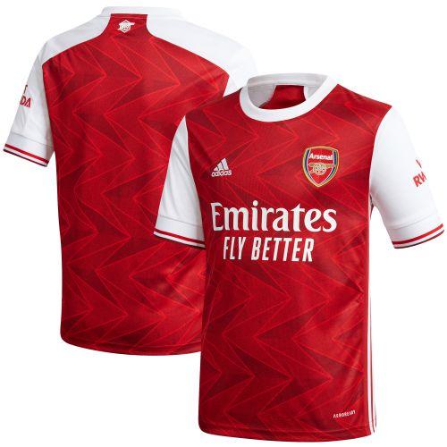 Arsenal Home Shirt 2020-21 - Kids with David Luiz 23 printing