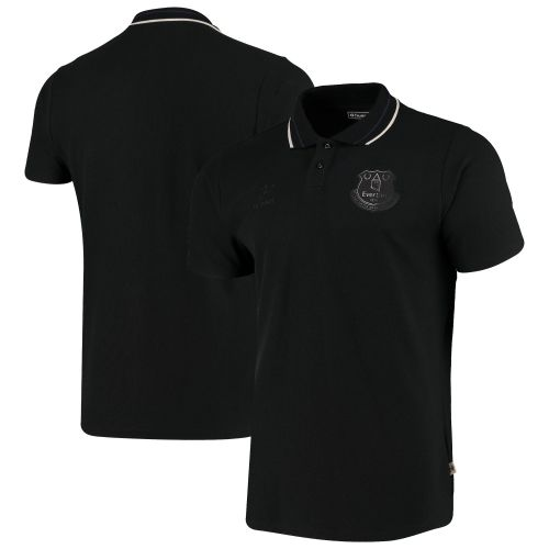 Everton Travel Polo - Black