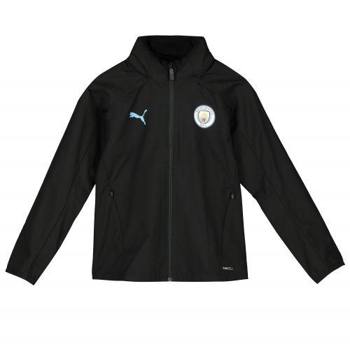Manchester City Training Rain Jacket - Black - Kids