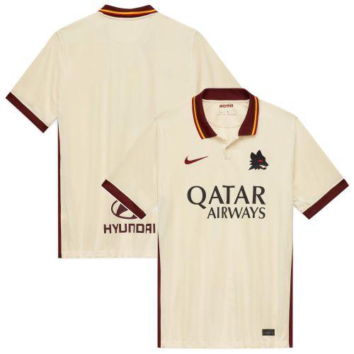 AS Roma Away Stadium Shirt 2020-21 - Kids with Džeko 9 printing