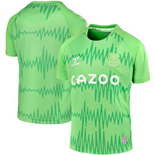 Everton Home Goalkeeper Shirt 2020-21 - Kids with Pickford 1 printing