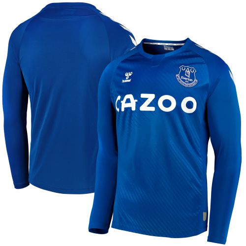 Everton Home Shirt 2020-21 - Long Sleeve with Richarlison 7 printing