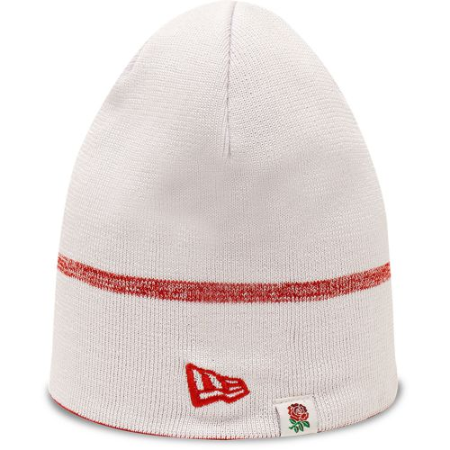 England Rugby New Era Reversible Skull Knit Hat - Red/White